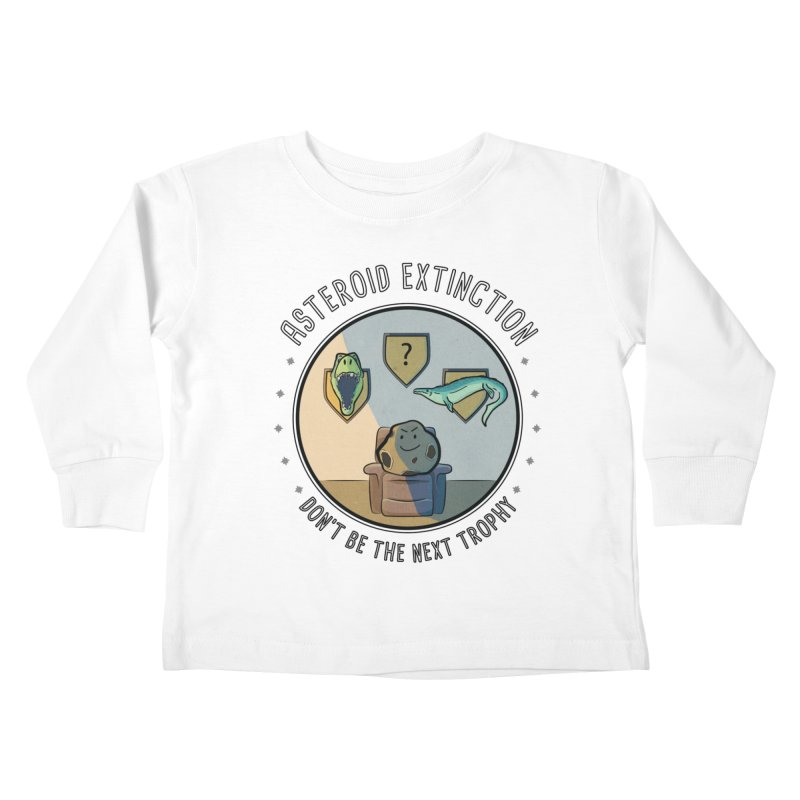 Asteroid Trophy Kids Toddler Longsleeve T-Shirt by Photon Illustration's Artist Shop