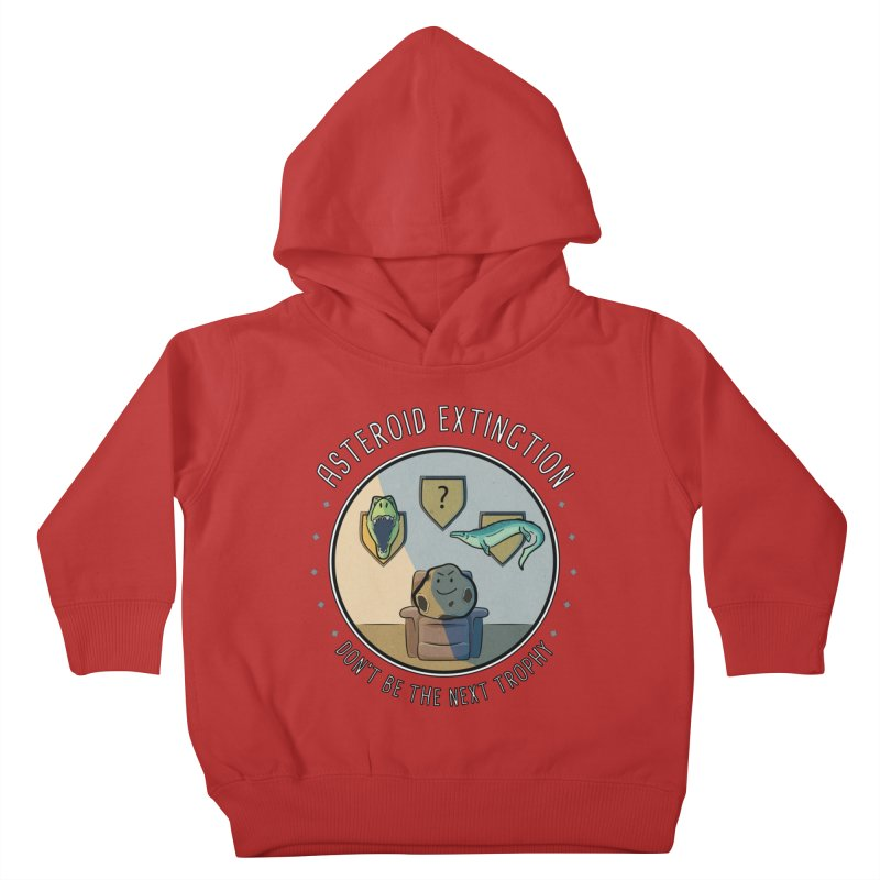 Asteroid Trophy Kids Toddler Pullover Hoody by Photon Illustration's Artist Shop