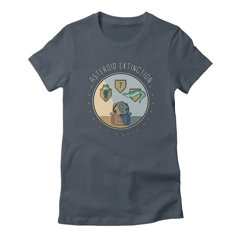 Asteroid Trophy Women's T-Shirt by Photon Illustration's Artist Shop