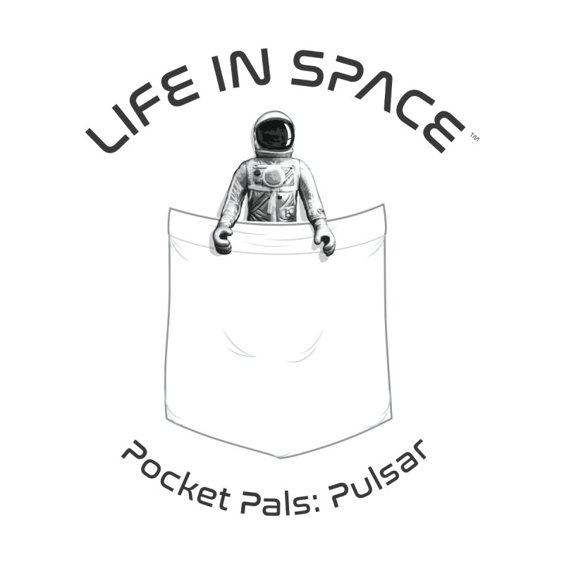 Life in Space Pocket Pals: Pulsar by Photon Illustration's Artist Shop