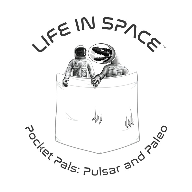 Life in Space Pocket Pals: Pulsar and Paleo by Photon Illustration's Artist Shop