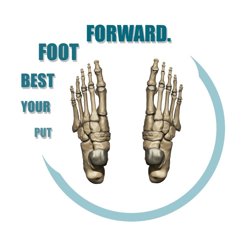 Put Your Best Foot Forward by Photon Illustration's Artist Shop