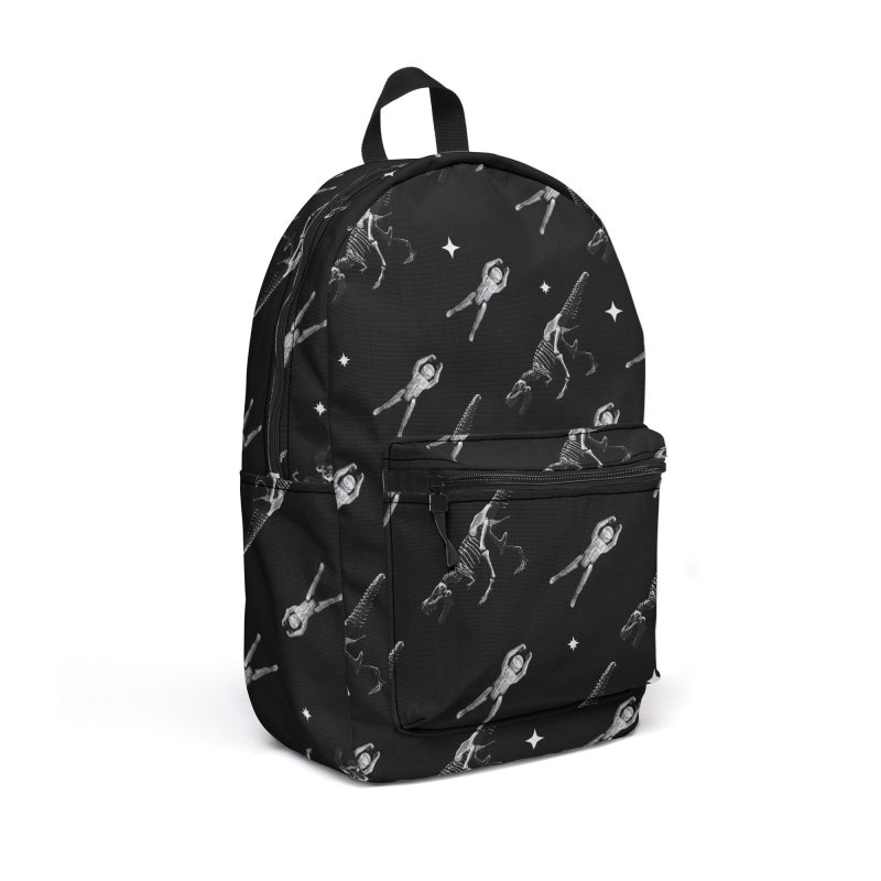 Life in Space Pattern 1 Accessories Backpack Bag by Photon Illustration's Artist Shop
