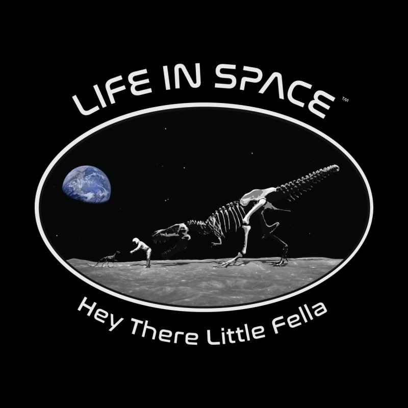 Life in Space: Hey There Little Fella by Photon Illustration's Artist Shop