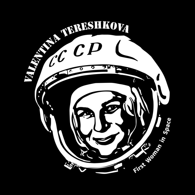 Women in Space: Valentina Tereshkova Men's Zip-Up Hoody by Photon Illustration's Artist Shop