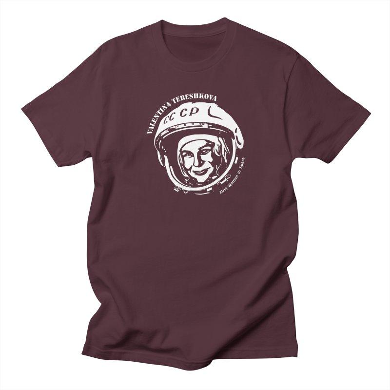Women in Space: Valentina Tereshkova Men's T-Shirt by Photon Illustration's Artist Shop