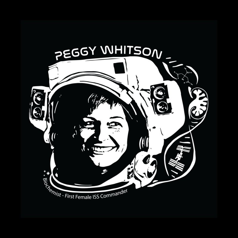 Women in Space: Peggy Whitson by Photon Illustration's Artist Shop