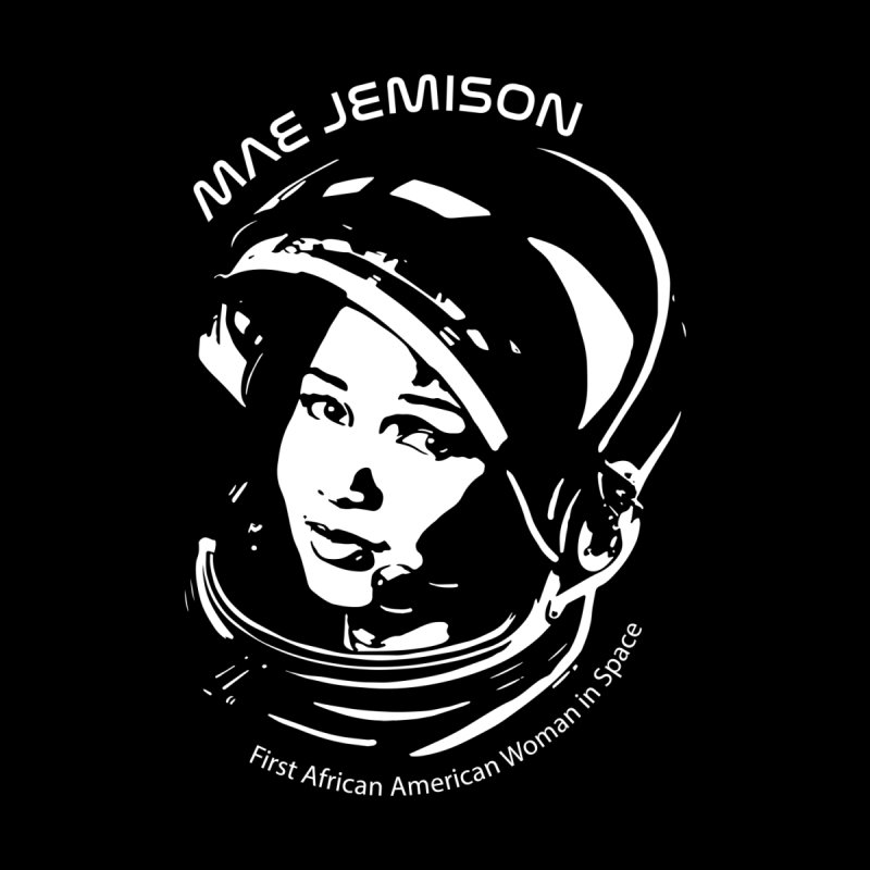 Women in Space: Mae Jemison Men's T-Shirt by Photon Illustration's Artist Shop