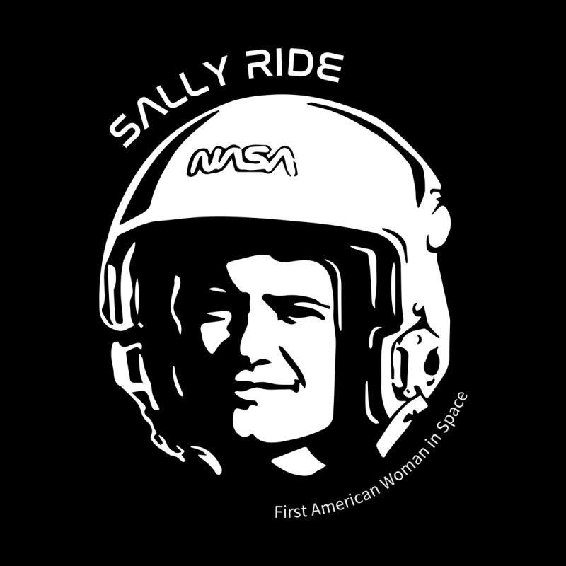 Women in Space: Sally Ride by Photon Illustration's Artist Shop