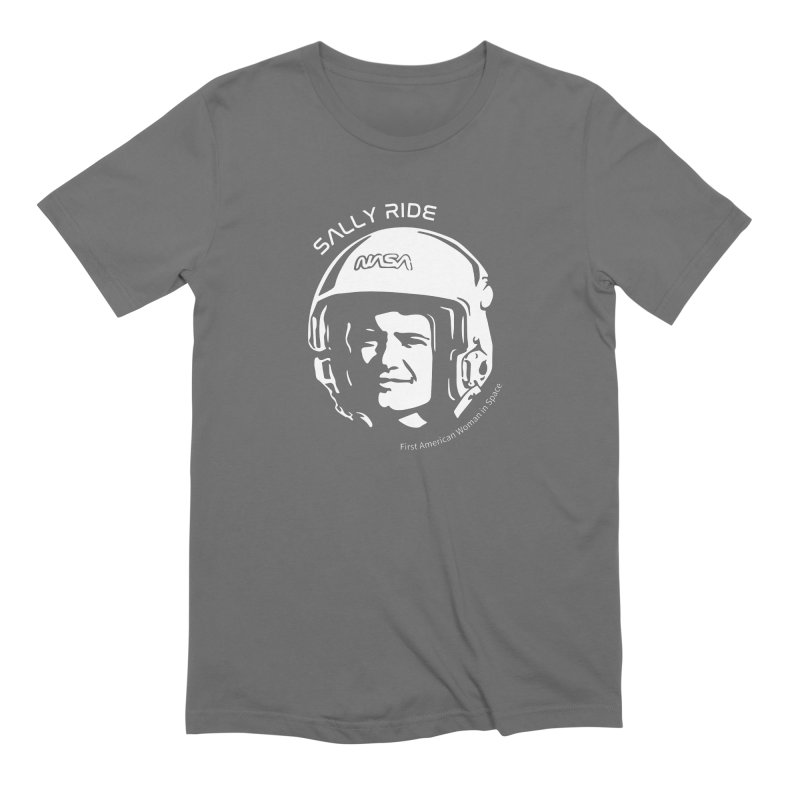 Women in Space: Sally Ride Men's T-Shirt by Photon Illustration's Artist Shop