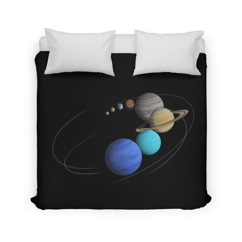 Solar System Classic Home Duvet by Photon Illustration's Artist Shop