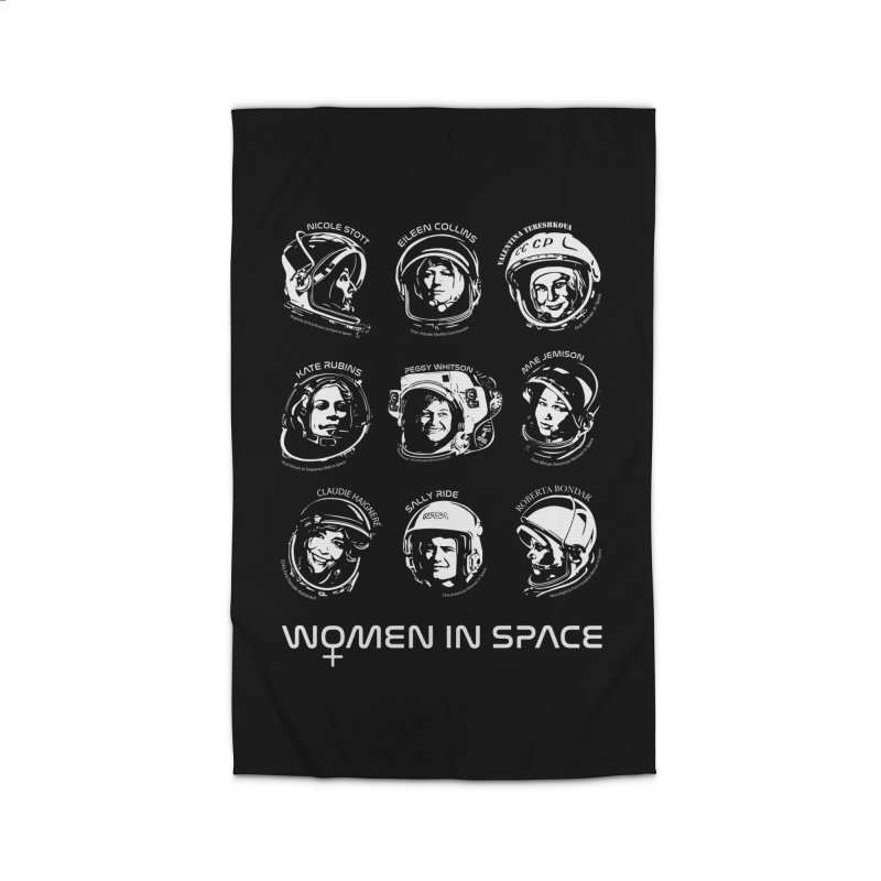 Women in Space combo Home Rug by Photon Illustration's Artist Shop
