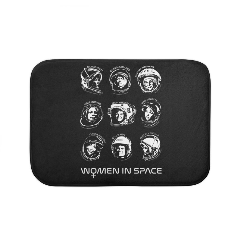 Women in Space combo Home Bath Mat by Photon Illustration's Artist Shop