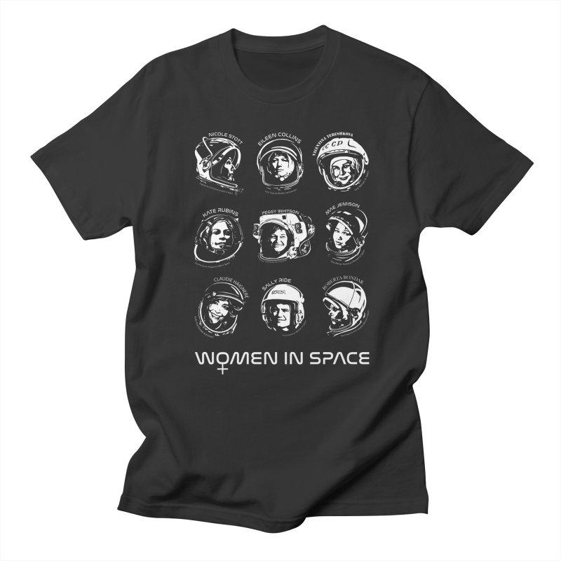 Women in Space combo Women's Regular Unisex T-Shirt by Photon Illustration's Artist Shop