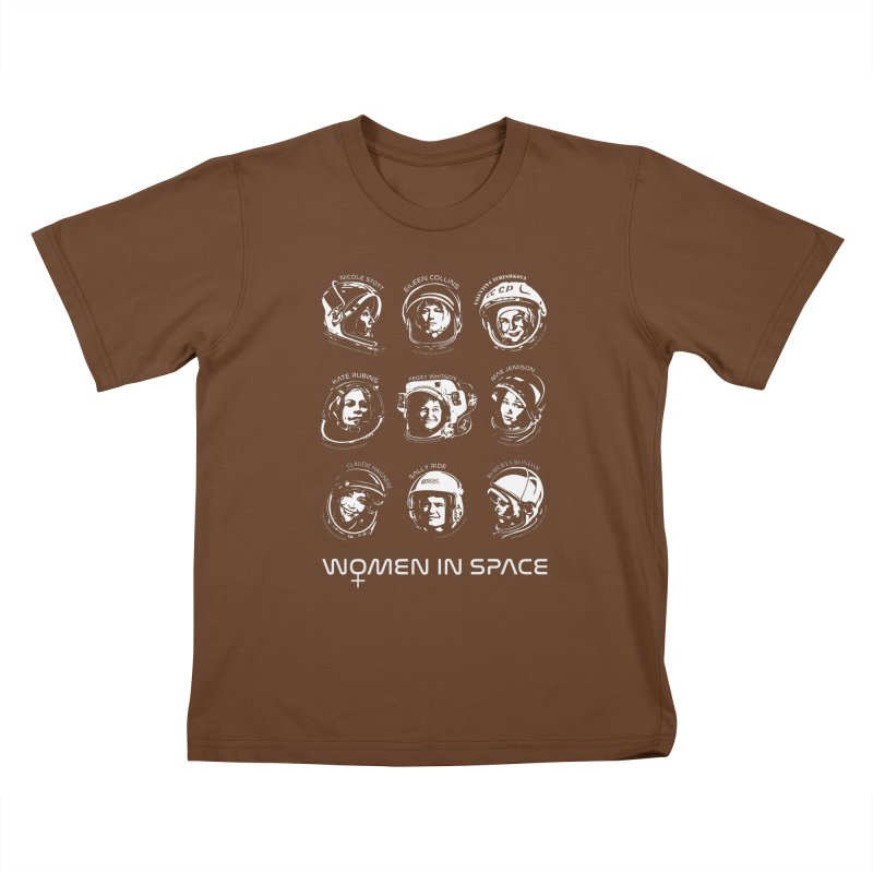 Women in Space combo Kids T-Shirt by Photon Illustration's Artist Shop