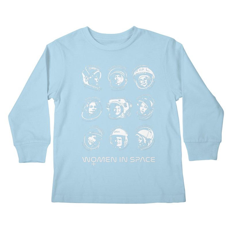Women in Space combo Kids Longsleeve T-Shirt by Photon Illustration's Artist Shop