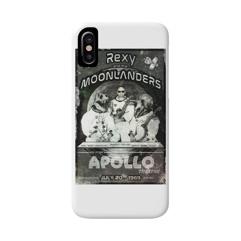 Rexy and the Moonlanders Accessories Phone Case by Photon Illustration's Artist Shop