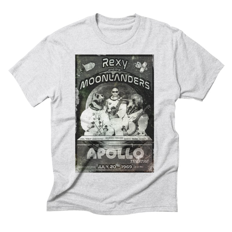 Rexy and the Moonlanders Men's Triblend T-Shirt by Photon Illustration's Artist Shop