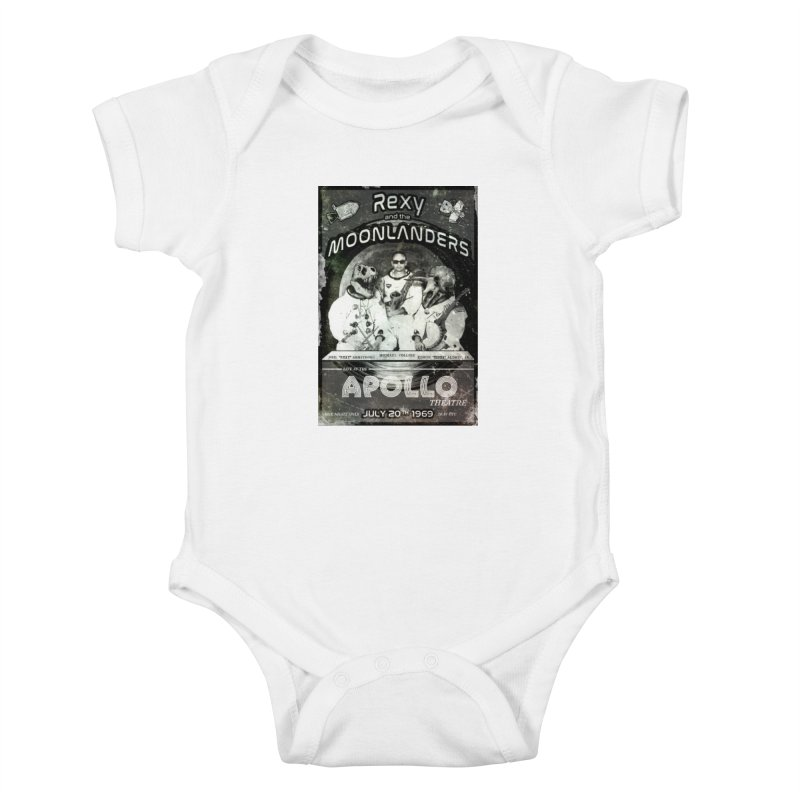 Rexy and the Moonlanders Kids Baby Bodysuit by Photon Illustration's Artist Shop