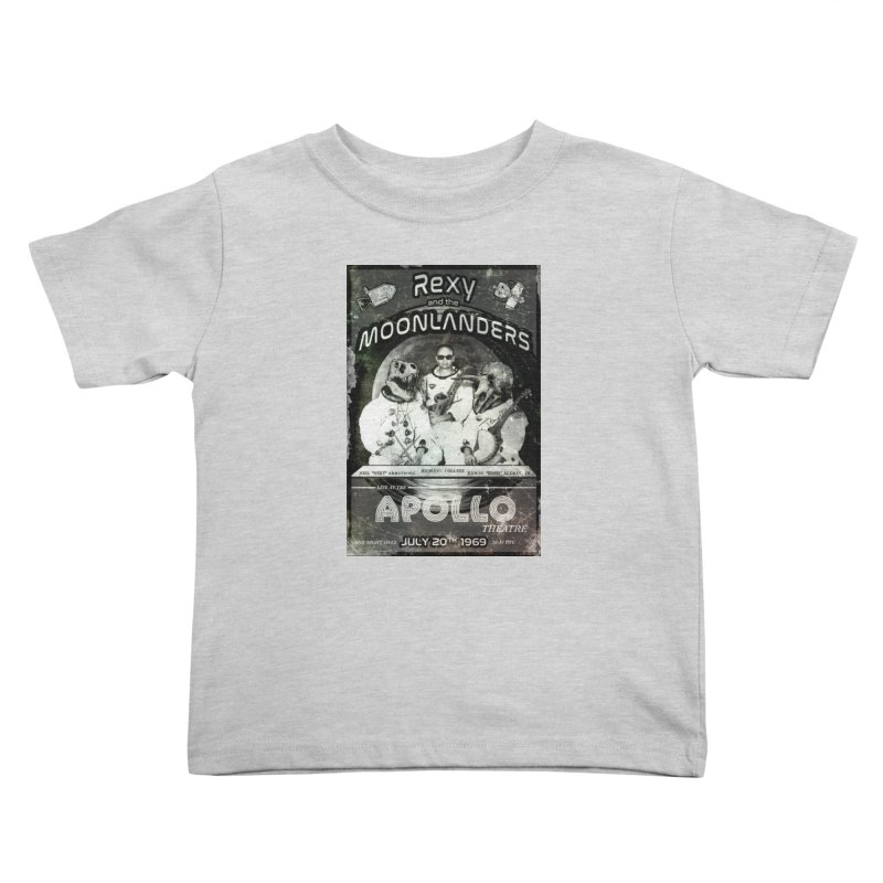 Rexy and the Moonlanders Kids Toddler T-Shirt by Photon Illustration's Artist Shop