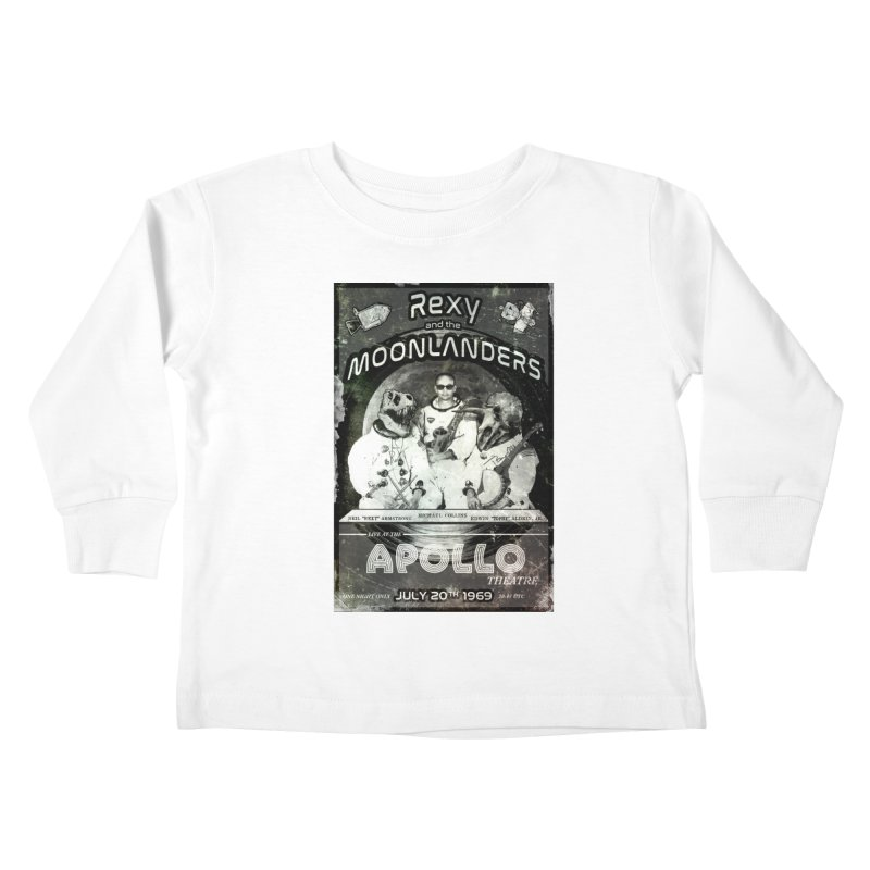 Rexy and the Moonlanders Kids Toddler Longsleeve T-Shirt by Photon Illustration's Artist Shop