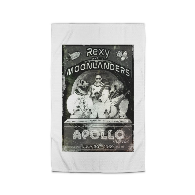 Rexy and the Moonlanders Home Rug by Photon Illustration's Artist Shop