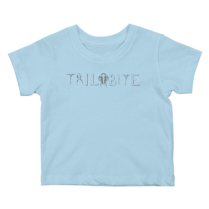 TriloBITE Kids Baby T-Shirt by Photon Illustration's Artist Shop