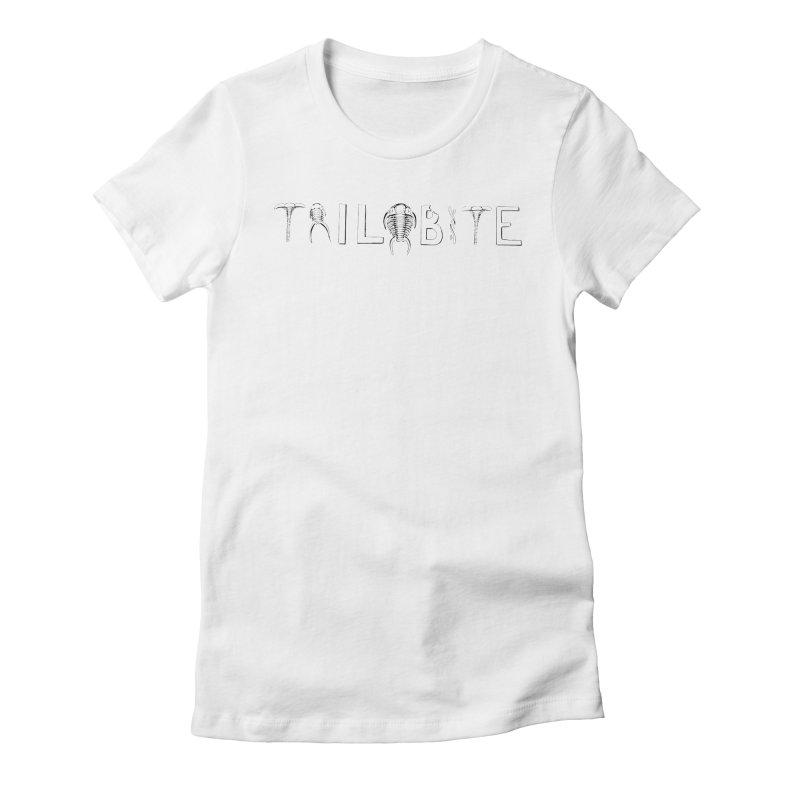 TriloBITE Women's Fitted T-Shirt by Photon Illustration's Artist Shop