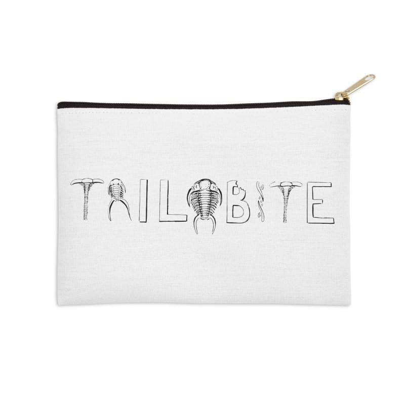 TriloBITE Accessories Zip Pouch by Photon Illustration's Artist Shop