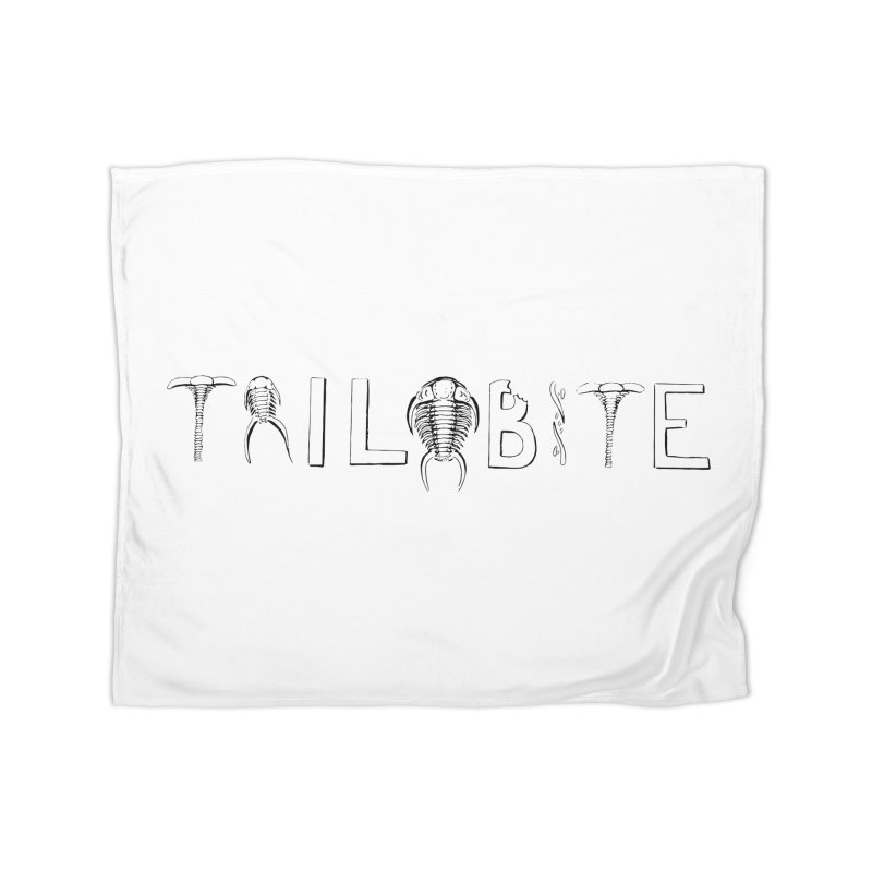 TriloBITE Home Blanket by Photon Illustration's Artist Shop