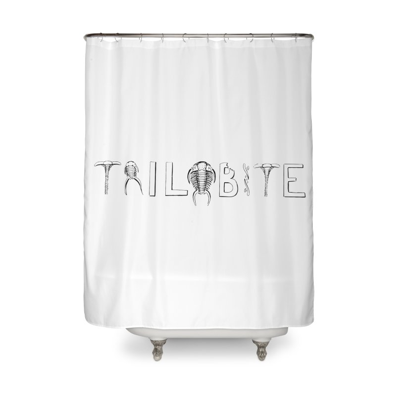TriloBITE Home Shower Curtain by Photon Illustration's Artist Shop