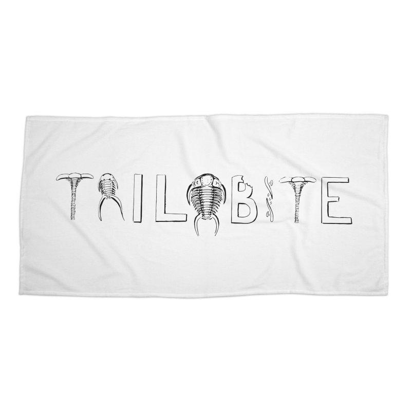 TriloBITE Accessories Beach Towel by Photon Illustration's Artist Shop
