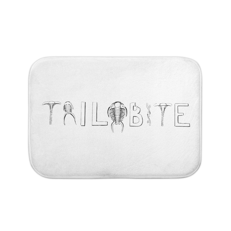 TriloBITE Home Bath Mat by Photon Illustration's Artist Shop