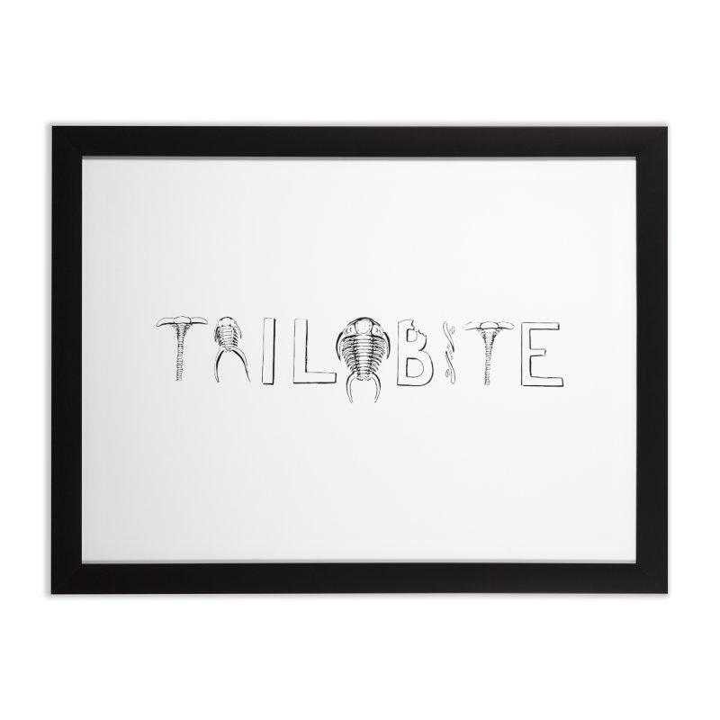 TriloBITE Home Framed Fine Art Print by Photon Illustration's Artist Shop