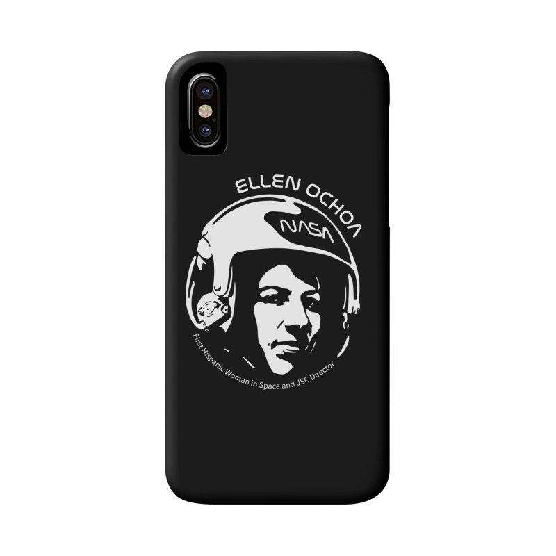 Women in Space: Ellen Ochoa Accessories Phone Case by Photon Illustration's Artist Shop