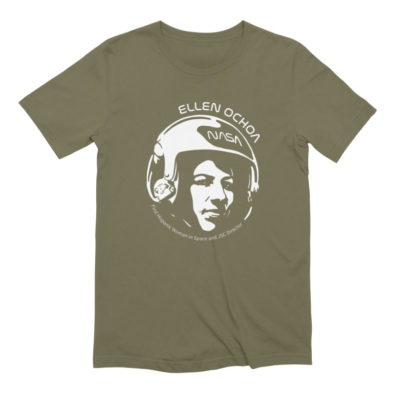 Women in Space: Ellen Ochoa Men's Extra Soft T-Shirt by Photon Illustration's Artist Shop