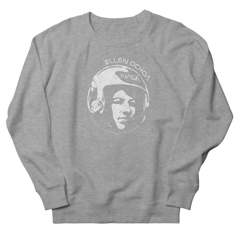 Women in Space: Ellen Ochoa Men's French Terry Sweatshirt by Photon Illustration's Artist Shop