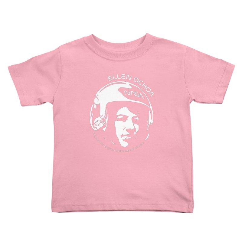 Women in Space: Ellen Ochoa Kids Toddler T-Shirt by Photon Illustration's Artist Shop