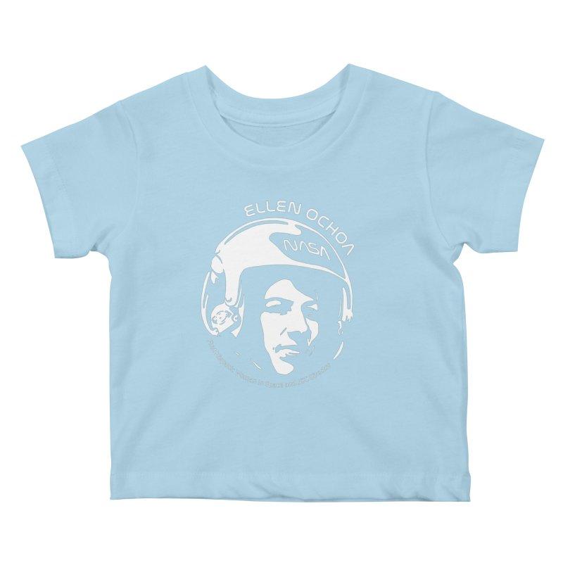Women in Space: Ellen Ochoa Kids Baby T-Shirt by Photon Illustration's Artist Shop