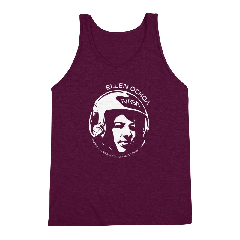 Women in Space: Ellen Ochoa Men's Triblend Tank by Photon Illustration's Artist Shop