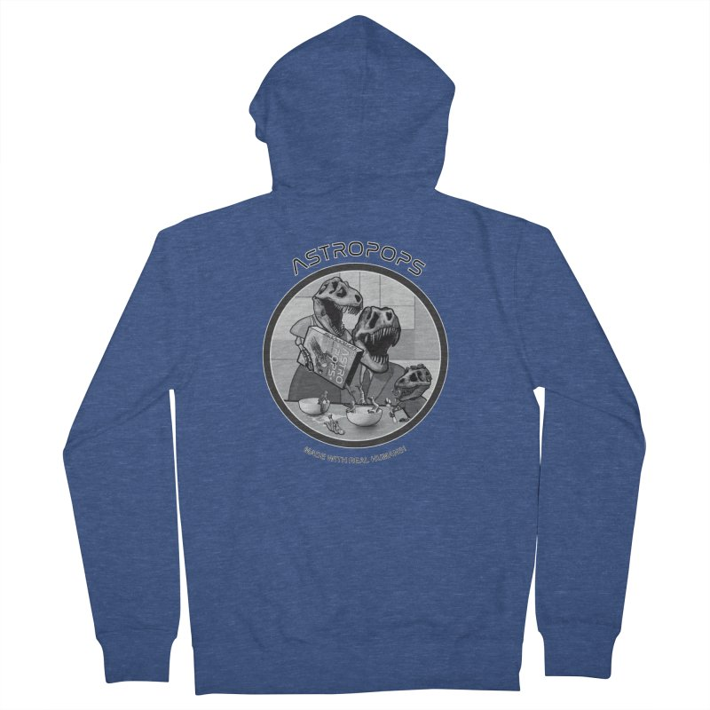 Astropops! Women's French Terry Zip-Up Hoody by Photon Illustration's Artist Shop