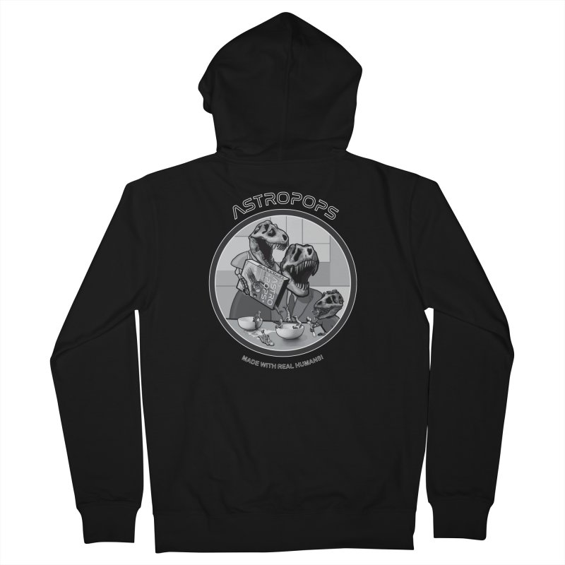 Astropops! Men's French Terry Zip-Up Hoody by Photon Illustration's Artist Shop