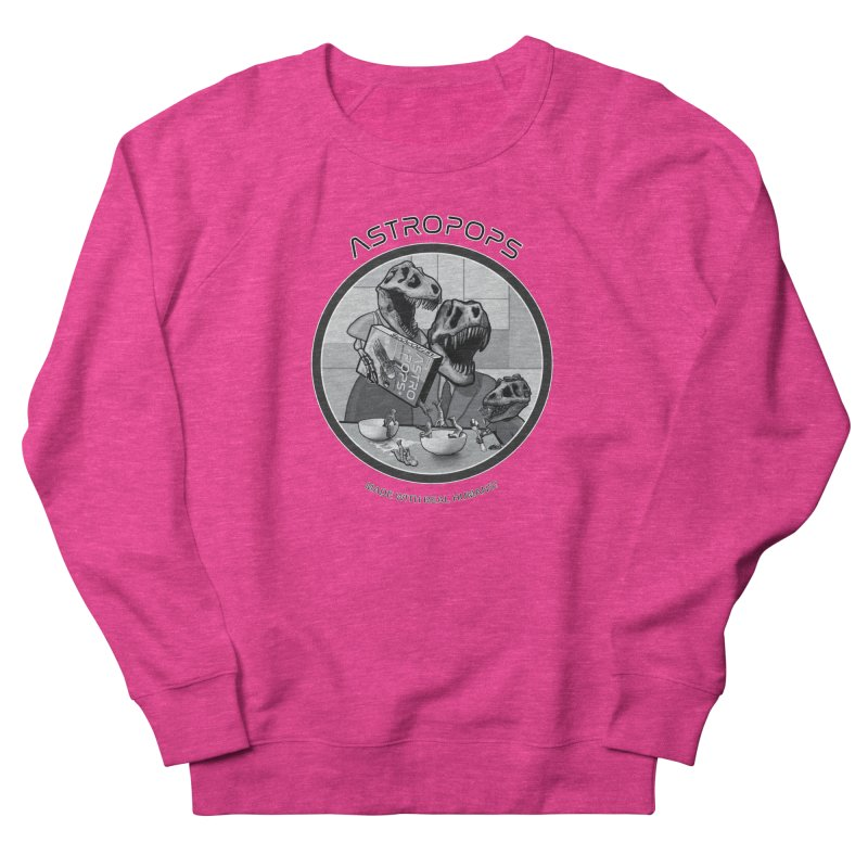 Astropops! Women's French Terry Sweatshirt by Photon Illustration's Artist Shop