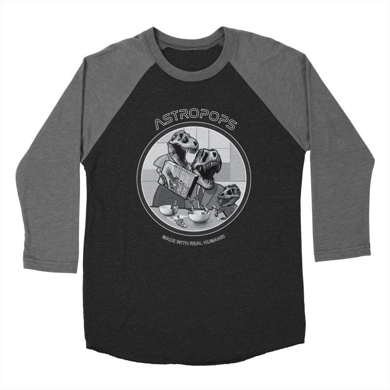 Astropops! Men's Baseball Triblend Longsleeve T-Shirt by Photon Illustration's Artist Shop