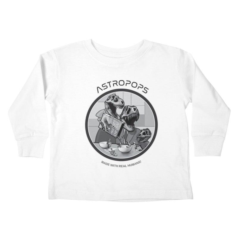 Astropops! Kids Toddler Longsleeve T-Shirt by Photon Illustration's Artist Shop