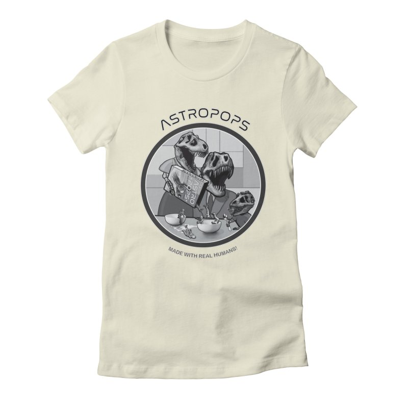 Astropops! Women's Fitted T-Shirt by Photon Illustration's Artist Shop