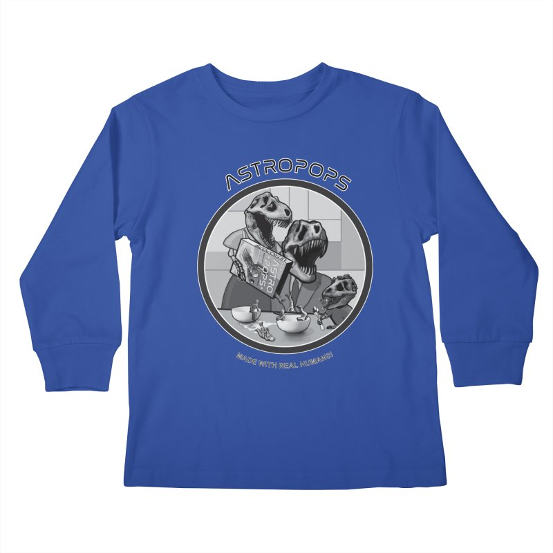 Astropops! Kids Longsleeve T-Shirt by Photon Illustration's Artist Shop