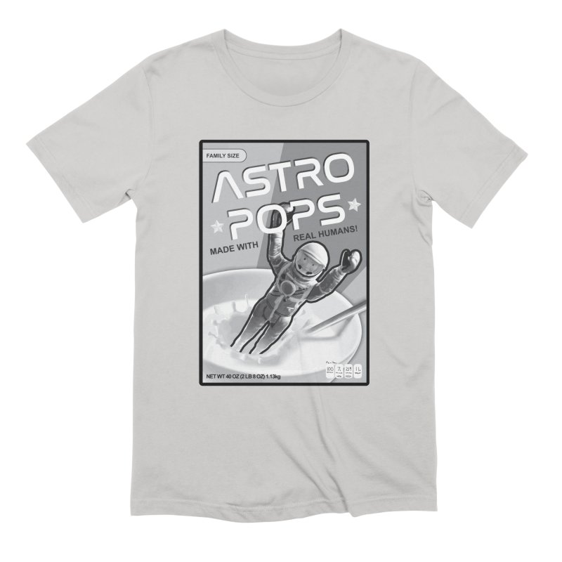 Astropops! The Breakfast Cereal of the Future! Men's Extra Soft T-Shirt by Photon Illustration's Artist Shop