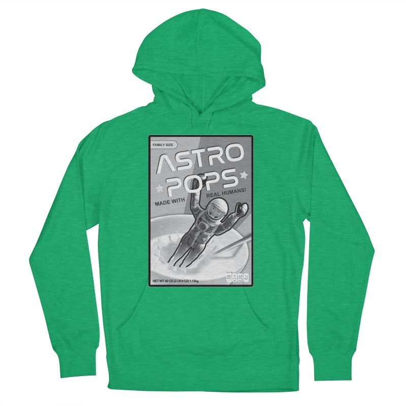 Astropops! The Breakfast Cereal of the Future! Women's French Terry Pullover Hoody by Photon Illustration's Artist Shop