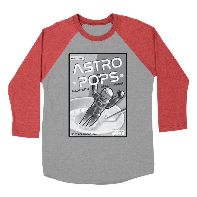 Astropops! The Breakfast Cereal of the Future! Women's Baseball Triblend Longsleeve T-Shirt by Photon Illustration's Artist Shop